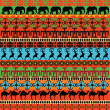 Traditional African pattern — Stock Photo