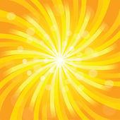 Sunburst effect — Stockfoto