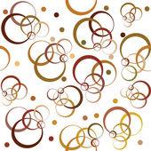 Fondo con círculos marrón — Foto de Stock