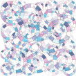 Abstract background with blue and pink circles — Stock Photo