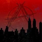 город анархии — Стоковое фото