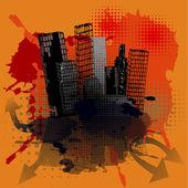 Grunge urban concept — Stock Photo