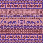 Roze afrikaanse textuur — Stockfoto