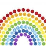 Abstract rainbow — Stock Photo