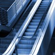 Escalator and stairway outside of the bu — Stock Photo