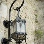 Vintage street lamp — Stock Photo