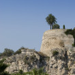 Ruined old castle walls in Monaco. — Stock Photo #2838942