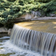 Waterfall in the park — Stock Photo