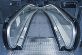 Escalator going down. — Stock Photo