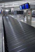Baggage carousel at the airport — Stock Photo