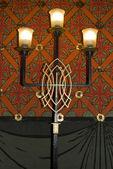 Lámpara candelabro antiguo medieval — Foto de Stock