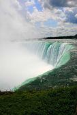 Niagara falls canadian side — Stock Photo