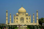 Taj Mahal at Agra, India — Stock Photo