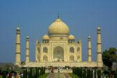 Taj Mahal at Agra, India — Stock Photo