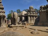Stone temple at Mahabalipuram — Stock Photo