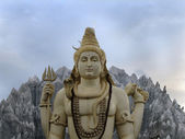 Statue of Lord Shiva — Stock Photo