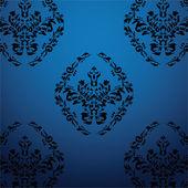 Exclusive black baroque pattern2 — Stock Vector