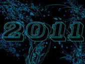 Year 2011 — Stock Photo