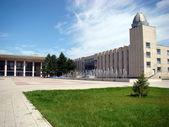 Palace School in the Pavlodar — Stock Photo