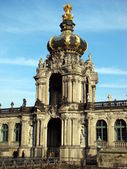 The Zwinger is a palace in Dresden — Stock Photo