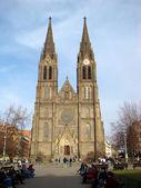 Church of St Ludmila in Prague — Stock Photo