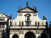Iglesia de san salvador en praga — Foto de Stock