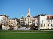 Benedictine monastery - Emauzy — Stock Photo