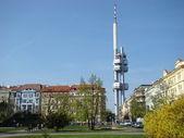 Zizkov TV tower. — Stock Photo