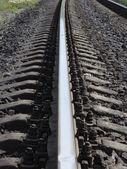 The railway — Stock Photo