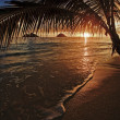 Pacific sunrise at lanikai — Stock Photo