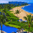 Kaanapali beach, maui - Stock Photo