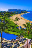 Kaanapali beach, maui — Stock Photo