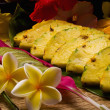 Selection of tropical fruits — Foto de Stock