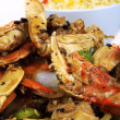 Asian crab legs with rice - Foto Stock