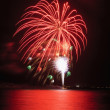 Fireworks display on the fourth of july — ストック写真