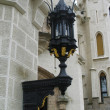 Old street lamp — Stockfoto