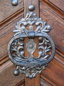 Ancient doorknob — Stockfoto