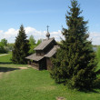 Stock Photo: Ancient wooden church