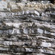 Layered rock — Stock Photo