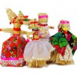 Stock Photo: Slavic holiday carnival dolls