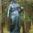 Statue of the muse of poetry — Foto Stock