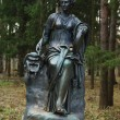 Statue of the muse of poetry — Zdjęcie stockowe