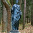 Statue of the muse of poetry — Foto de Stock