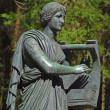 Statue of the muse of poetry — Stockfoto