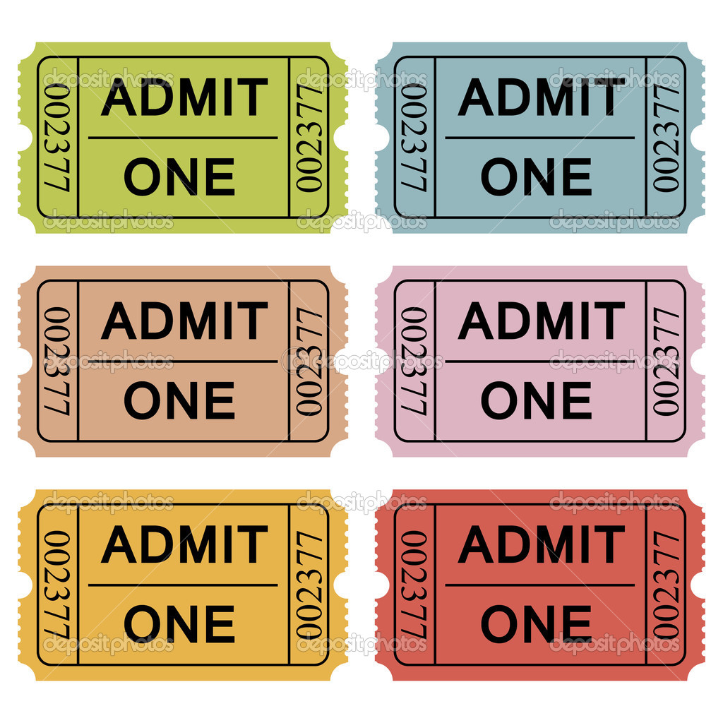 Cinema tickets vector illustration — Stock Vector #2955583