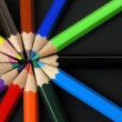 Colored Pencils in Row — Stockfoto #2926855