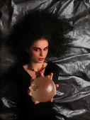 Tiyatro makyajı - cadı — Stok fotoğraf