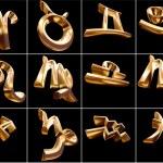 3D Zodiac Sign — Stock Photo