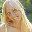 Smiling Blond Woman — Stock Photo #2947837