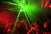 Night Club Party Background — Stock Photo